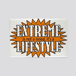 Extreme is a Lifestyle Rectangle Magnet