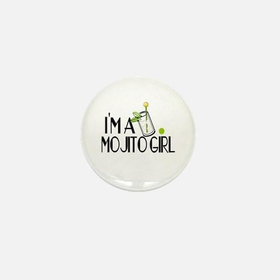 I'm a Mojito Girl Mini Button