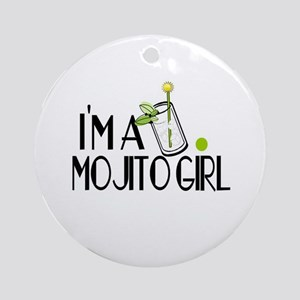 I'm a Mojito Girl Ornament (Round)