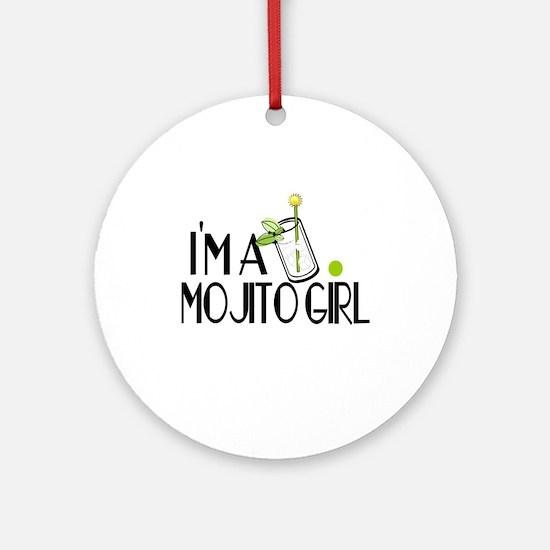I'm a Mojito Girl Ornament (Round)