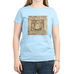 Vitruvian Penguin Women's Light T-Shirt