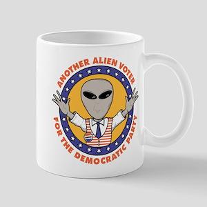 Alien Democratic Voter Mug