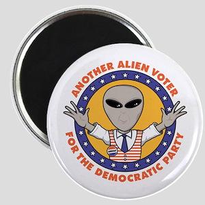 Alien Democratic Voter Magnet