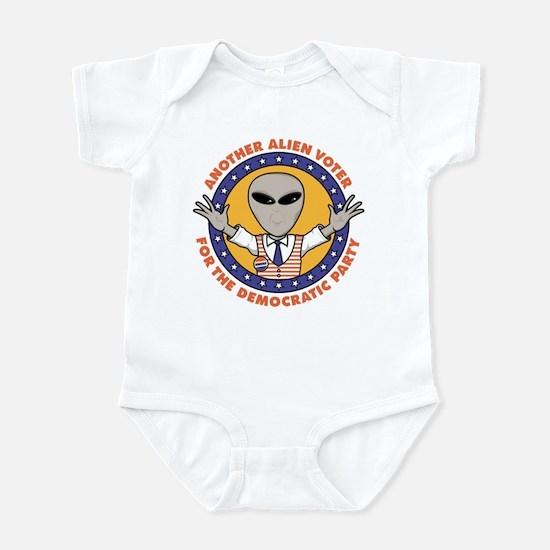 Alien Democratic Voter Infant Bodysuit