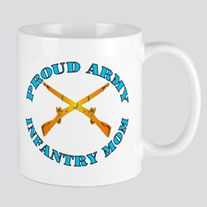 Proud Army Infantry Mom Mug