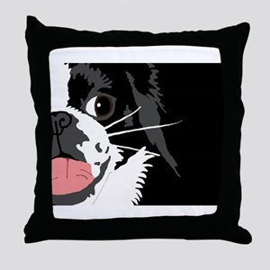 Lucky Chin Benefit Throw Pillow