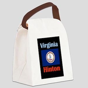 Hinton Virginia Canvas Lunch Bag