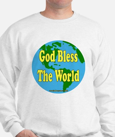 God Bless The World Sweatshirt