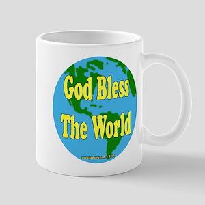 God Bless The World Mug