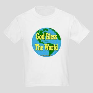 God Bless The World Kids T-Shirt