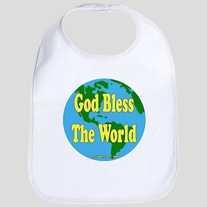 God Bless The World Bib