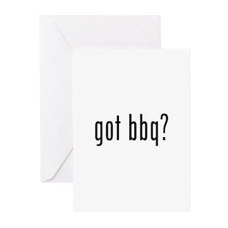 got bbq? Greeting Cards (Pk of 10)