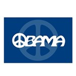 Obama Peace Postcards (Package of 8)