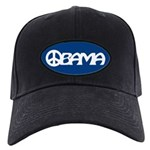 Obama Peace Black Cap