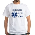 EMT Girlfriend White T-Shirt