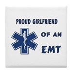 EMT Girlfriend Tile Coaster