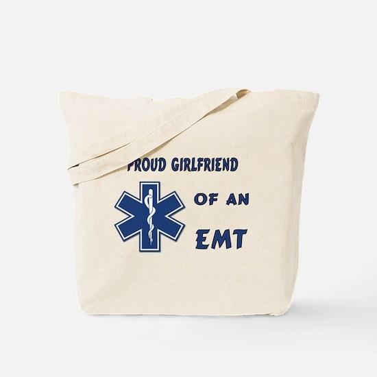 EMT Girlfriend Tote Bag