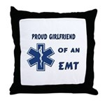 EMT Girlfriend Throw Pillow