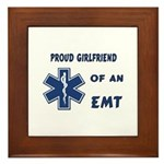 EMT Girlfriend Framed Tile