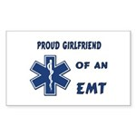 EMT Girlfriend Rectangle Sticker