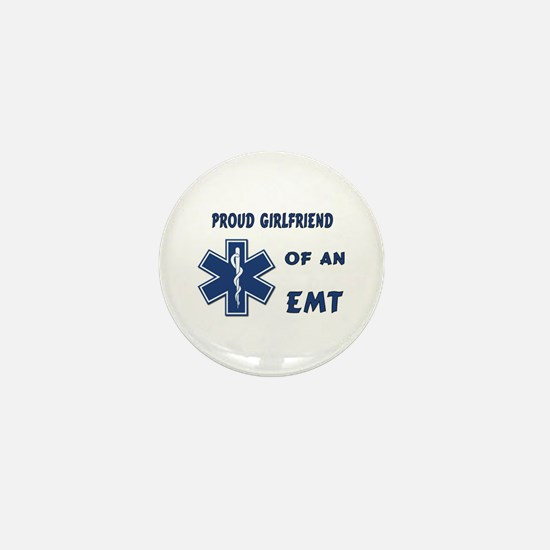 EMT Girlfriend Mini Button