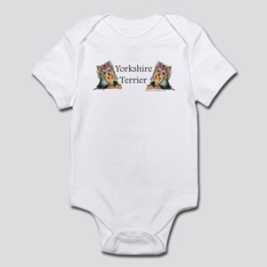 Yorkie Gifts for Yorkshire Terriers Infant Bodysui