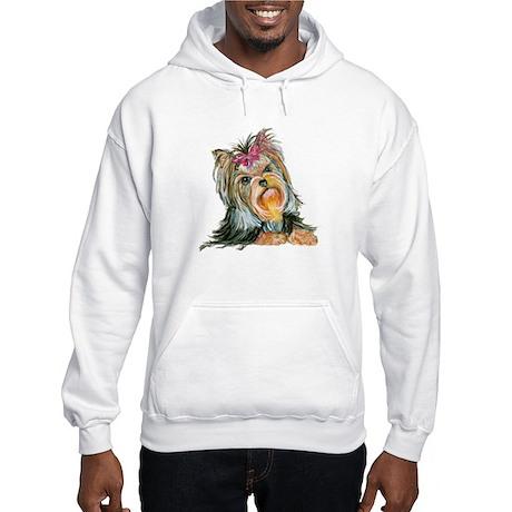 Yorkie Gifts for Yorkshire Terriers Hooded Sweatsh