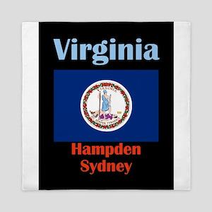 Hampden Sydney Virginia Queen Duvet