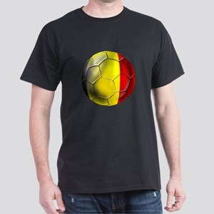 Belgian Football Dark T-Shirt