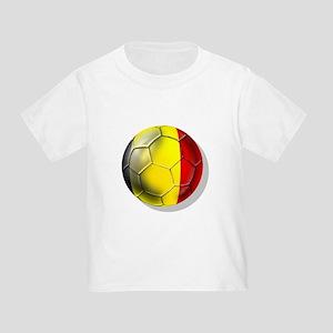 Belgian Football Toddler T-Shirt