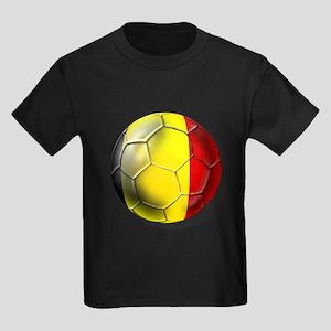 Belgian Football Kids Dark T-Shirt