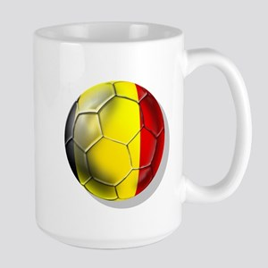 Belgian Football Large Mug
