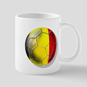 Belgian Football Mug
