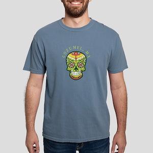 Cozumel Mexico Sugar Skull Souvenir Design T-Shirt