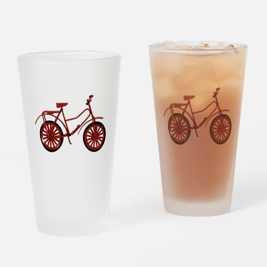 RedBicycle030310.png Drinking Glass