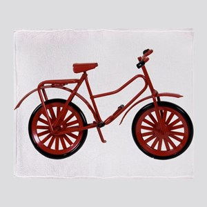 RedBicycle030310 Throw Blanket