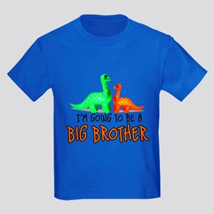 Going to be a big brother- di Kids Dark T-Shirt