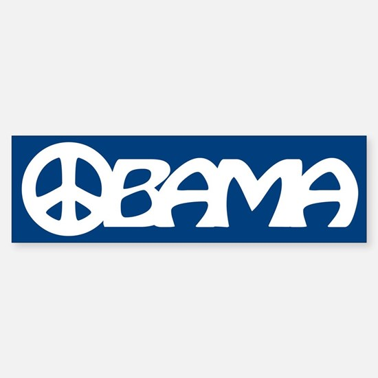 Obama Peace Bumper Bumper Bumper Sticker