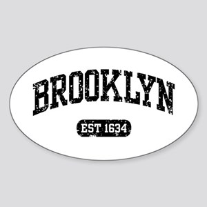 Brooklyn Est 1634 Sticker (Oval)
