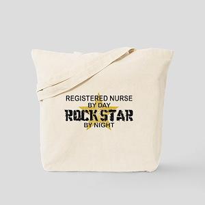RN Rock Star by Night Tote Bag