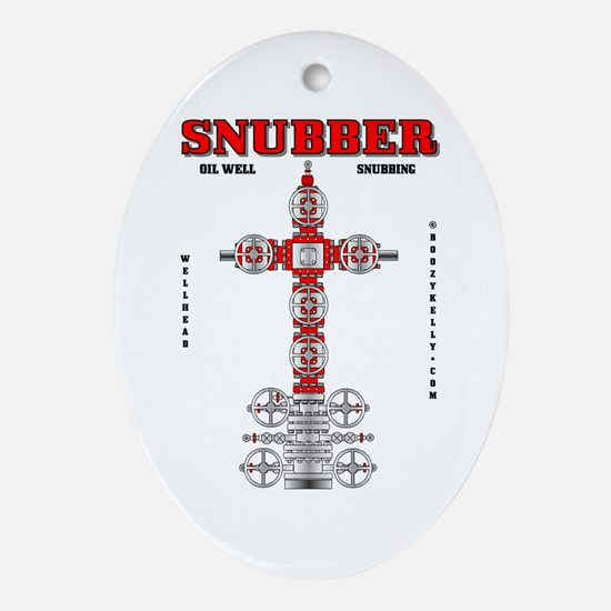Snubber Oval Ornament