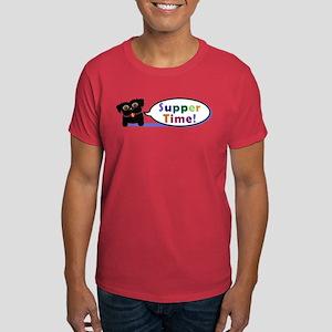 Suppertime Pug Dark T-Shirt