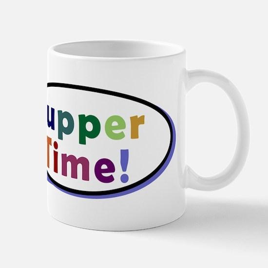 Suppertime Pug Mug