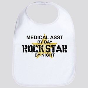 Medical Asst Rock Star by Night Bib