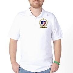 BOUDREAUX Family Crest Golf Shirt