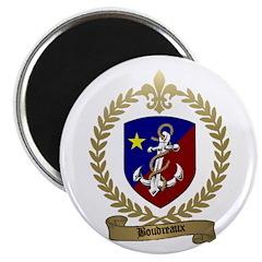 BOUDREAUX Family Crest Magnet