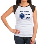 EMT Girlfriend Women's Cap Sleeve T-Shirt