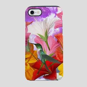 Hibiscus Butterflies iPhone 8/7 Tough Case