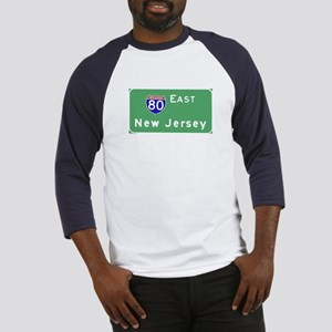 Route 80 Traffic NJ T-shirts Baseball Jersey