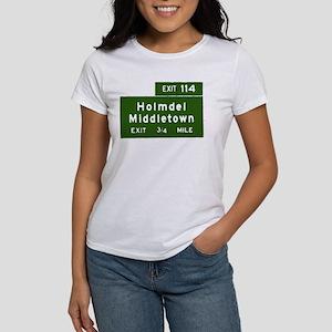 Holmdel, Middletown, NJ Parkw Women's T-Shirt